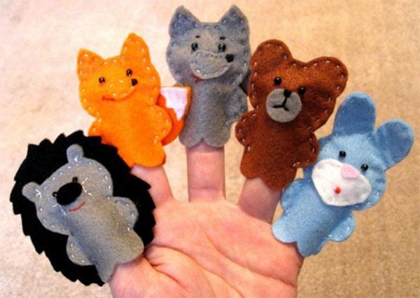 Своими руками куклы на пальцы